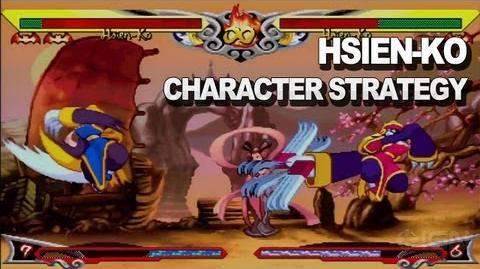 Darkstalkers - Hsien-Ko Character Strategy