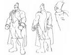 Demitri concept sketches