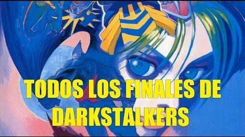 Todos los Finales de Darkstalkers The Night Warriors