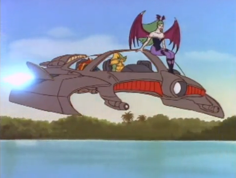 Darkstalkers Animated Series Rikuo Flying Fish.png