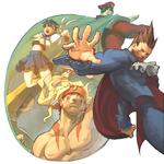 Demitri group shot Capcom Fighting Evolution