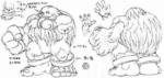Sasquatch Concept Sketch