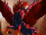 Armored Black Pegasus