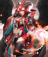 Ex II Discerning Queen, Azui