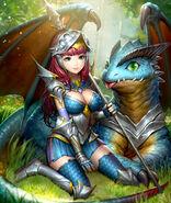 Infant Dragon Princess Stage 1
