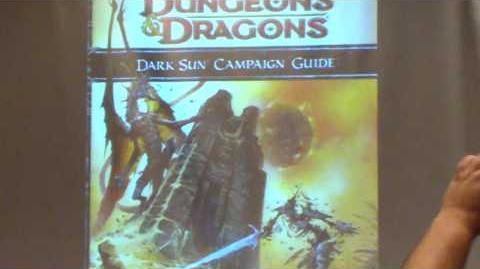 Dark Sun 4th Edition Announcement At Gencon 2009