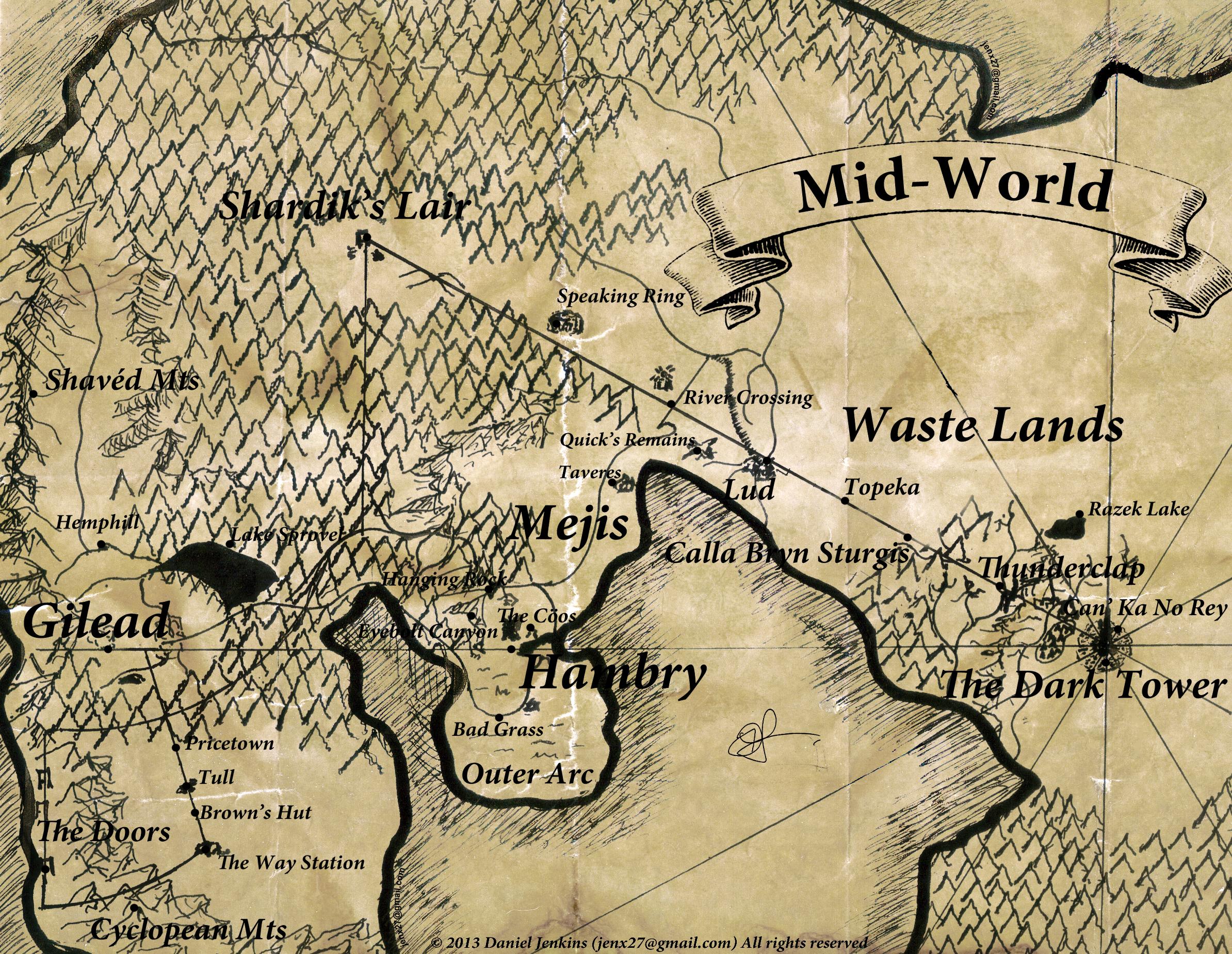 Mid World The Dark Tower Wiki Fandom