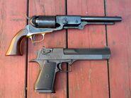 Colt Walker compared to Desert Eagle