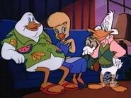 Herb, Binkie, Honker, and Drake (Posiduck) (from the episode Negaduck)