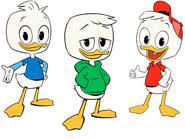 DuckTales 2017 - Huey, Dewey, and Louie
