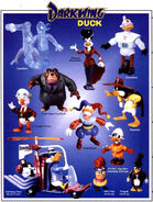 Darkwing Duck Playmates Toys