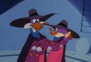 Darkwing Duck and Goslyan (Trading Faces)