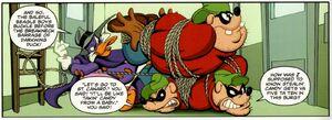 Darkwing vs the Beagle Boys.jpg