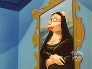 A Brush with Oblivion - Mona Lisa