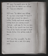 Journal from the radio tower