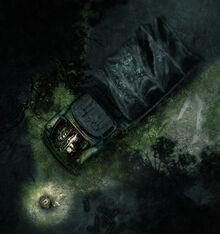 The Broken Truck, as seen in-game
