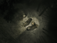 Radio Tower - three graves