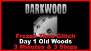 Frozen Time Glitch Day 1 Old Woods