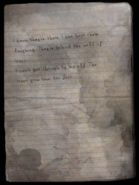 Note from the Burned Houses