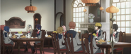 Ep2 first meal with zero two