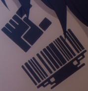 Barcode Tattoo Anime