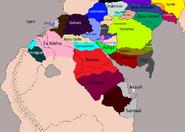 Karte von Harad Halb