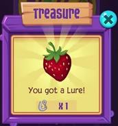 Winning a lure