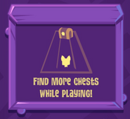 No chests