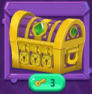 Triple-key-chest