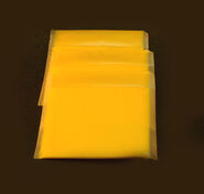 Wrapped American cheese slices