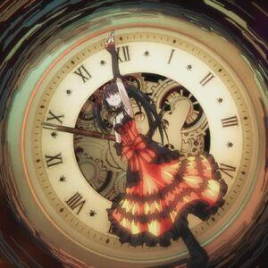 Kurumi summons her angel.jpg