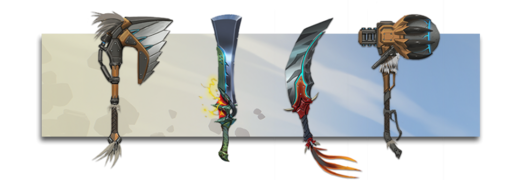 Dauntless weapons.png
