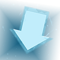 Down Arrow Flare Icon 001.png