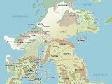 Drenai world/Map