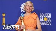Michelle Williams - Full Backstage Speech at the Golden Globes 2020