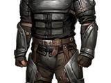 Steel armor
