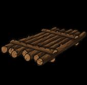 Handmade raft