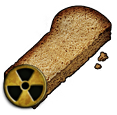 Infected rusk