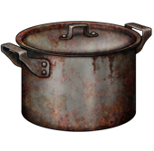 Rusted Saucepan