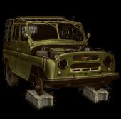 UAZ-469 (Disassembled)