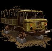GAZ-66 (Disassembled)