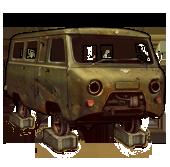 UAZ-452 (Disassembled)
