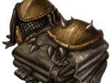 Chitin armor