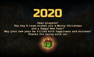 Thank you note Event 2020