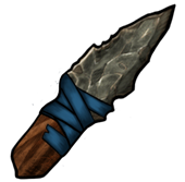 Flint knife