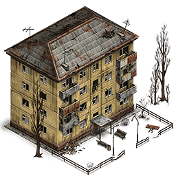 Intact house