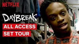 Daybreak Cast Give You An All Access Behind the Scenes Tour Netflix