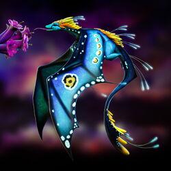 Bioluminescent Dragon