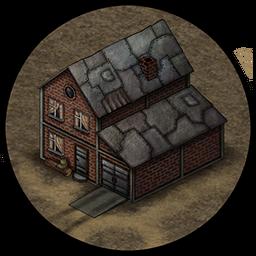 Лагерь (кирпичный дом)