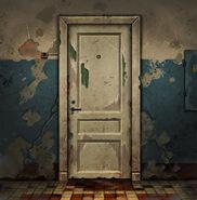 Деревянная дверь (671)